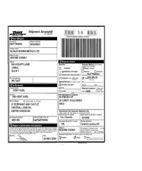 Proforma Invoice Template Dhl Commercial Invoice Template Uk U2013 Firmsinja Info