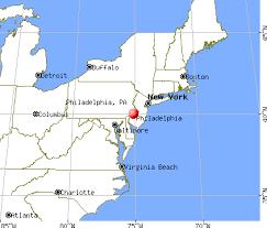 map of philly philadelphia pennsylvania pa profile population maps