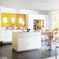 meuble de cuisine blanc quelle couleur pour les murs la beau cuisine meuble blanc mur jaune academiaghcr