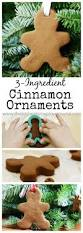 easy 3 ingredient cinnamon ornaments the perfect kid friendly