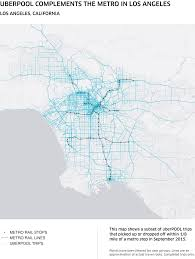 Metro Los Angeles Map by Drive Less Explore More With Metro Uberpool Uber Blog