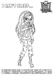 monster high valentine coloring pages kids alric coloring pages
