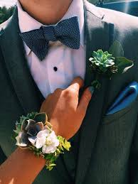 corsage and boutonniere for homecoming prom succulent corsage and boutonniere relationship goals