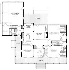 Farmhouse House Plans With Porches 137 252 Main Floor Garage Attached By Mudroom House Plans