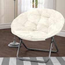 White Fluffy Chair White Fur Chair Wayfair