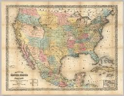 Map Of The United States And Mexico by Map Of The United States Of America The British Provinces Mexico