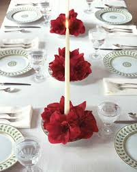 candle centerpiece amaryllis candle centerpiece martha stewart