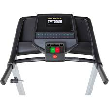 Treadmill Cushion Gold U0027s Gym 420 Treadmill With Spacesaver Design And Heart Rate