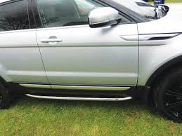 side protection tubes stainless range rover evoque vplvp0071
