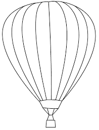 learn about air balloon coloring pages bulk color