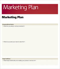 sample marketing plan template 14 free documents in word pdf