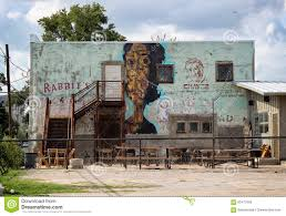 El Patio Austin Texas by Rabbit U0027s Lounge Mural Austin Texas Editorial Image Image 63477090