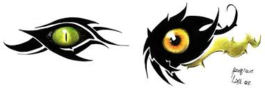 tribal tattoo eyes by henriquelima on deviantart
