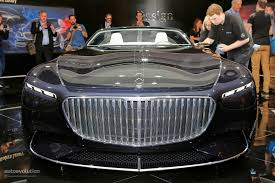 vision mercedes maybach 6 cabriolet is a staple of luxury at iaa