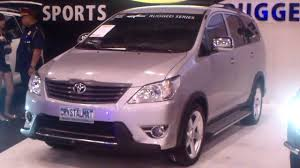 toyota innova toyota innova customization youtube