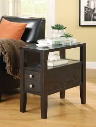 Chair Side Tables With Storage Coaster Furniture 900991 Accent Casual Storage Chair Side Table