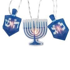 hanukkah lights decorations gifts hanukkah decorations blue and white hologram