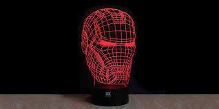 3d Lamps Amazon Celebrate Your Superhero Fandom With These 3d Lamps