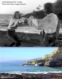 captain blood then u0026 now u201d laguna beach the errol flynn blog
