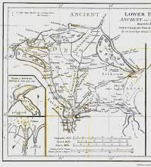 Delta Utah Map by Map Of Ancient Egypt Created By James Rennell As An Insert For His