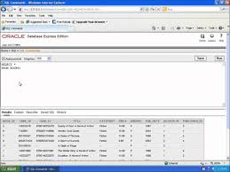 Delete All Rows From Table Sql With Oracle 10g Xe Using Delete To Remove A Row From A Table