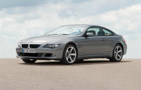 automotive database bmw 6 series e63