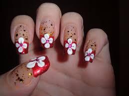 19 flower nails design beautiful flower design acrylic art nails