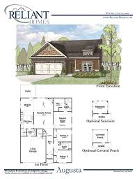 augusta a fe reliant homes new homes in atlanta