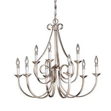 Kichler Lighting Chandeliers Kichler Lighting 2031 Dover 9 Light Chandelier The Mine