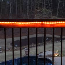 Outdoor Deck String Lighting by Rope Lighting Guide