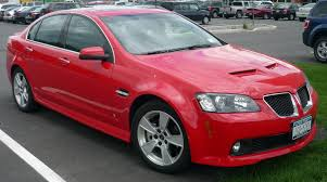 2008 pontiac g8 specs and photos strongauto