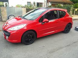peugeot 207 red luke harrison u0027s 2007 peugeot 207