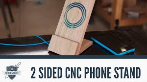 Phone Charging Stand by Cnc 2 Sided Machining To Make A Wireless Phone Charger Stand