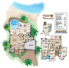 caribbean home plans 3 story caribbean house plan beach home design for waterfront views