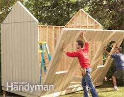 How To Build A Garden Shed Step By Step by How To Build A Shed On The Cheap U2014 The Family Handyman
