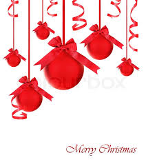 White Christmas Tree With Red Decorations by Red Baubles With Bows Christmas Tree Ornaments And Holiday