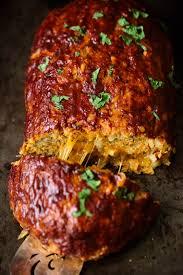 stuffed turkeys cheddar stuffed sweet potato bbq turkey meatloaf ambitious kitchen