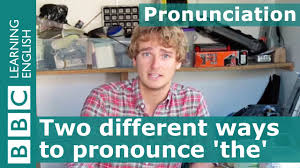Internet Meme Pronunciation - pronunciation two different ways to pronounce the word the youtube