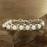 silver bracelet with pearls images Unicef uk market women 39 s jewellery bridal sterling silver pearl jpg