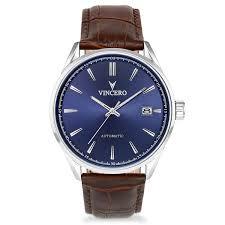 men u0027s dress watch blue and black u2013 vincero collective