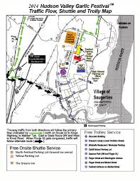 Map Of New Paltz New York by Garlic Festival Directions