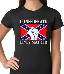 Flag T Shirt Confederate Lives Matter Rebel Flag Girls T Shirt