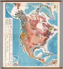 Maps North America by North America Tectonics David Rumsey Historical Map Collection