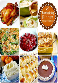 thanksgiving traditionalsgiving dinner menu shopping list best