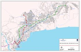 Panama World Map by Metro Line 2 Proposal Approved