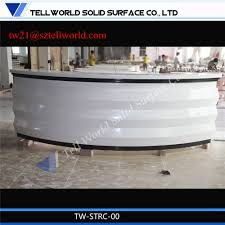 Rounded Reception Desk by China Luxury Half Round Cash Counter Office Table Round Reception