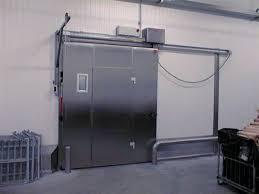 chambre froide traduction porte coulissante en métal pour chambre froide industrielle