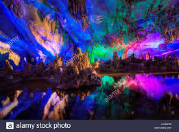 reed flute cave reed flute cave guilin guangxi province stock photo 136978811 alamy