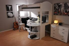 bedroom bunk beds for kids with desks underneath bar basement