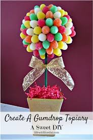 create a gumdrop topiary a sweet diy life with lorelai